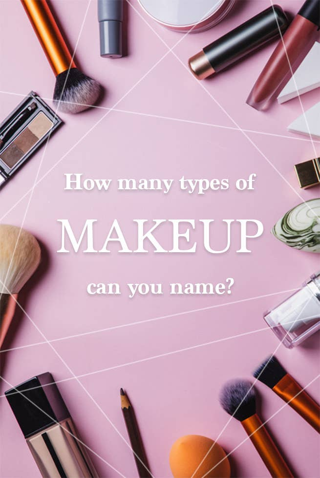How many types of makeup can you name?