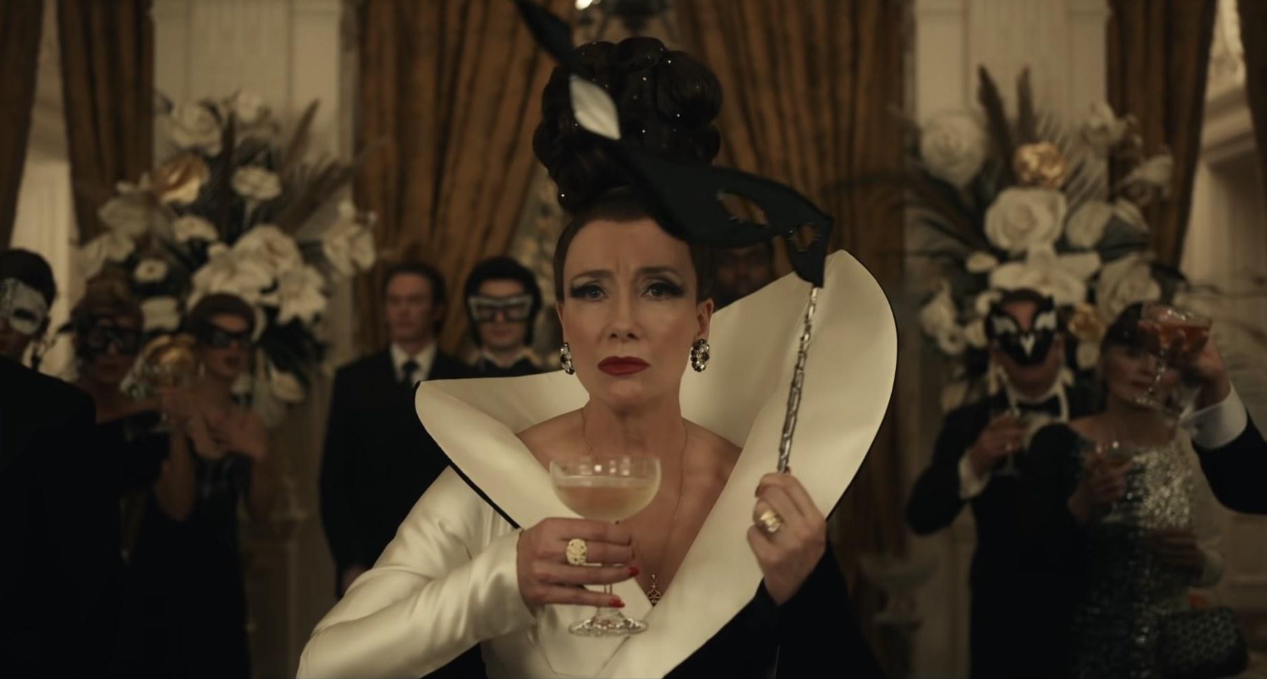 The Baroness in the live-action Cruella