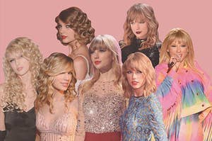 taylor throughout the years