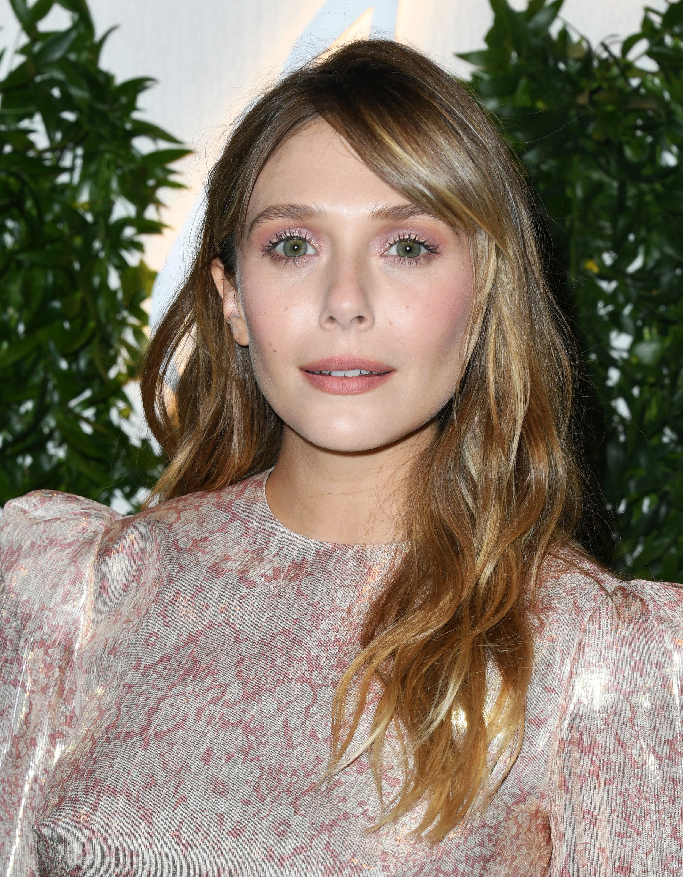 Elizabeth Olsen at the premiere of season two of Sorry For Your Loss in Los Angeles