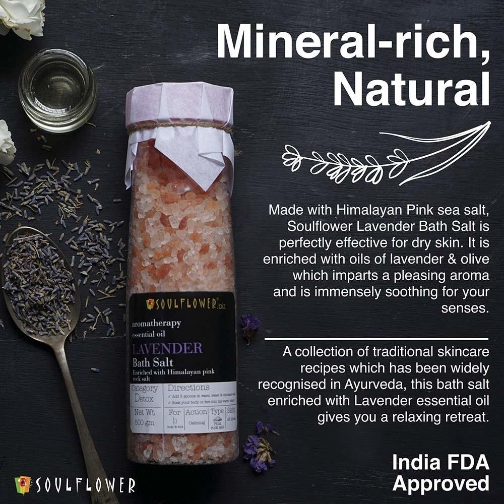 Bottle of the Himalayan salt