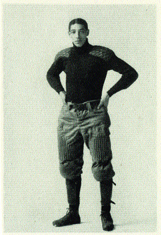 Bobby Marshall in his football uniform.