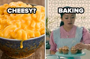 CHEESY pasta? baking lara jean