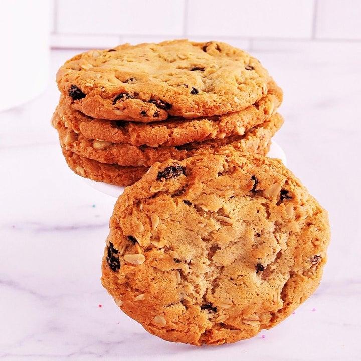Stack of four Drunken Grandma cookies