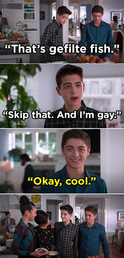 Cyrus coming out as gay to Jonah