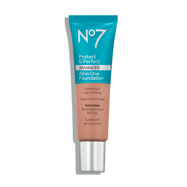 a tube of foundation