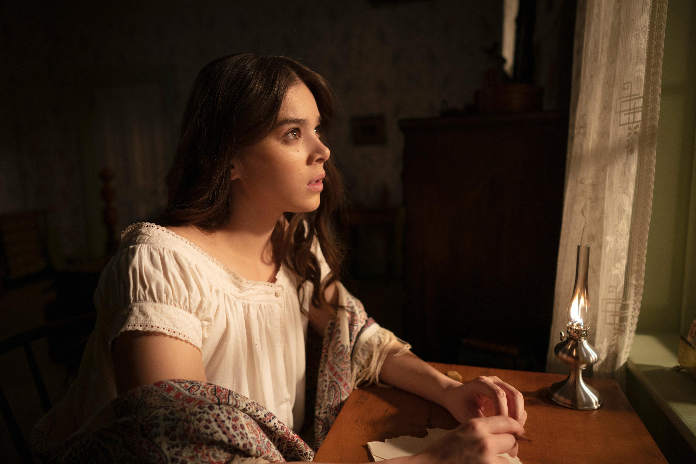 Hailee Steinfeld as Emily in Dickinson