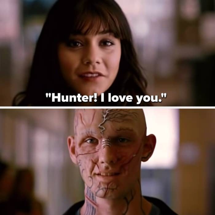 Lindy tells Kyle/Hunter that she loves him