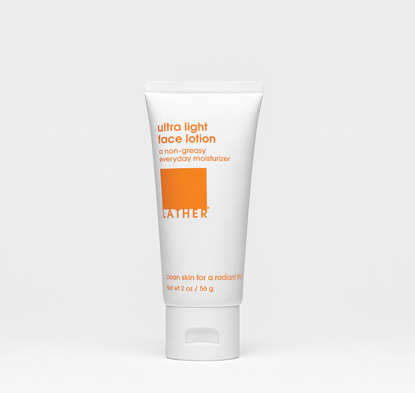 a bottle of the ultra light face lotion