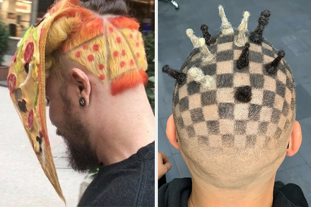 """17 """"What The Wha?!"""" Hairstyles That Actually Exist In The World"""