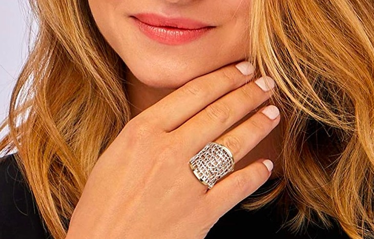 The textured ring