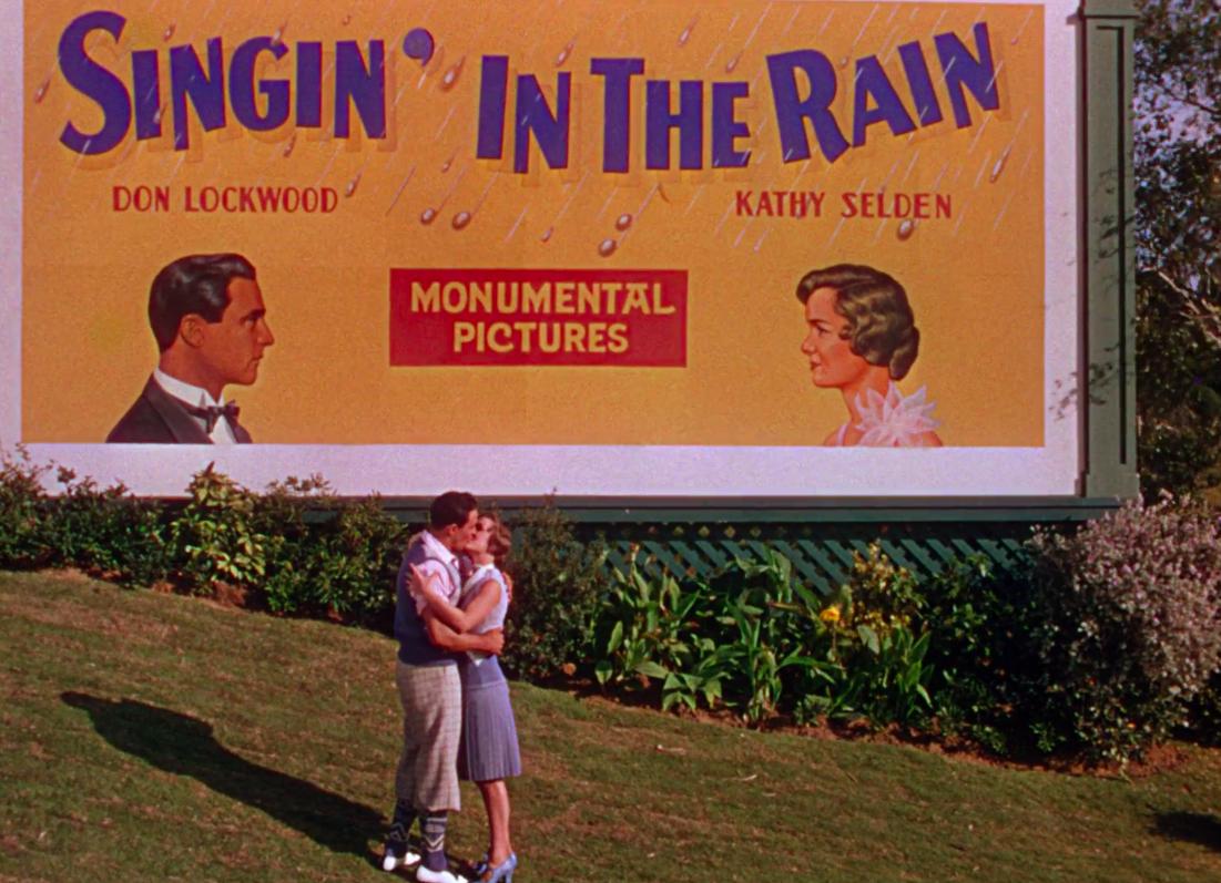 Don and kathy kissing