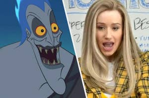 Hades and Iggy Azalea dressed as Cher from