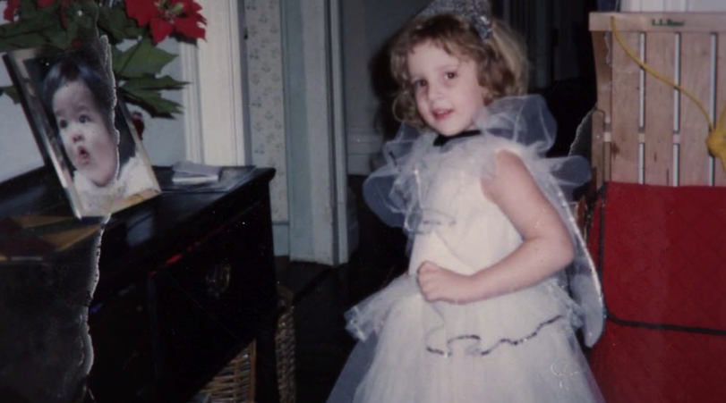 Archived photo of Dylan Farrow as a child