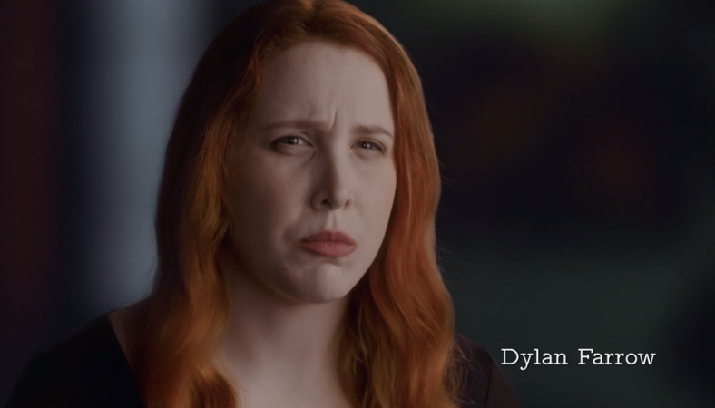 Dylan Farrow taking about Woody Allen's inappropriate relationship with her