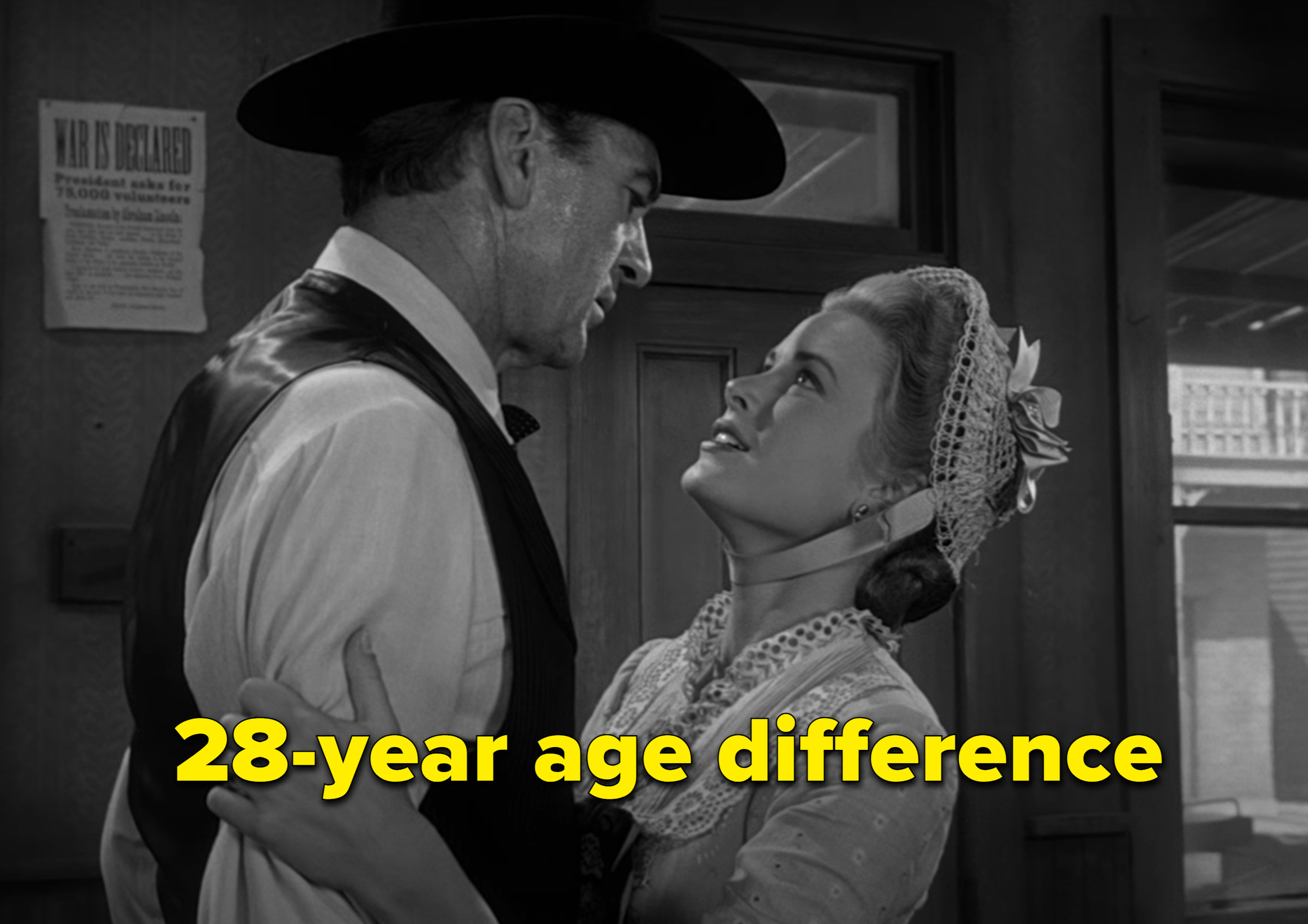 Age difference year 28 40 Celebrity
