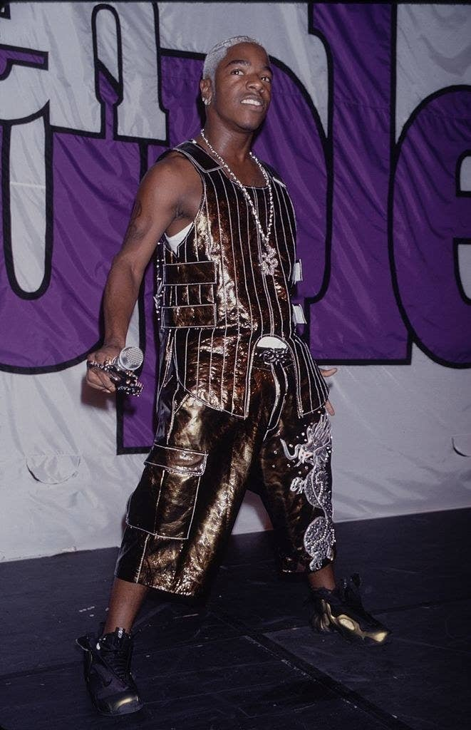 Sisqo performing onstage