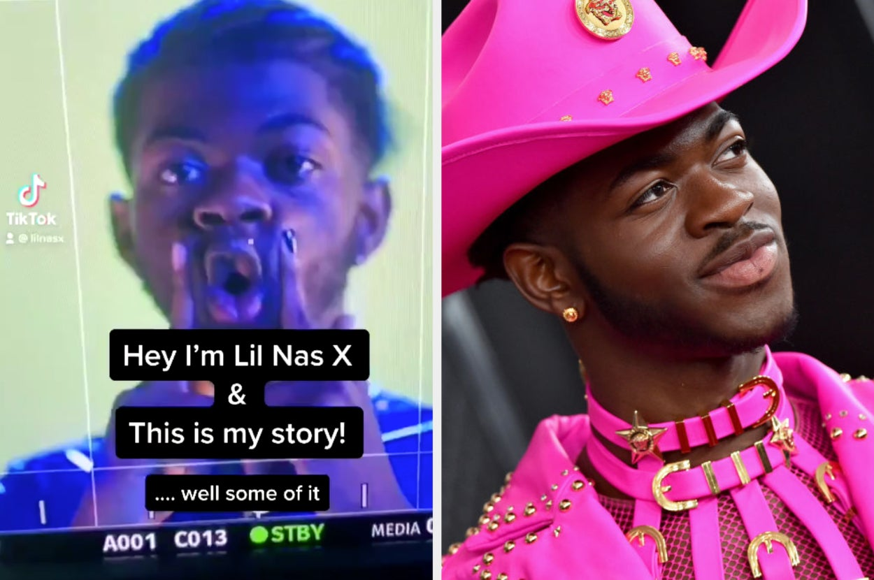 Lil Nas X Took To TikTok To Share His Life Story And It'll Hit You Right In The Feels