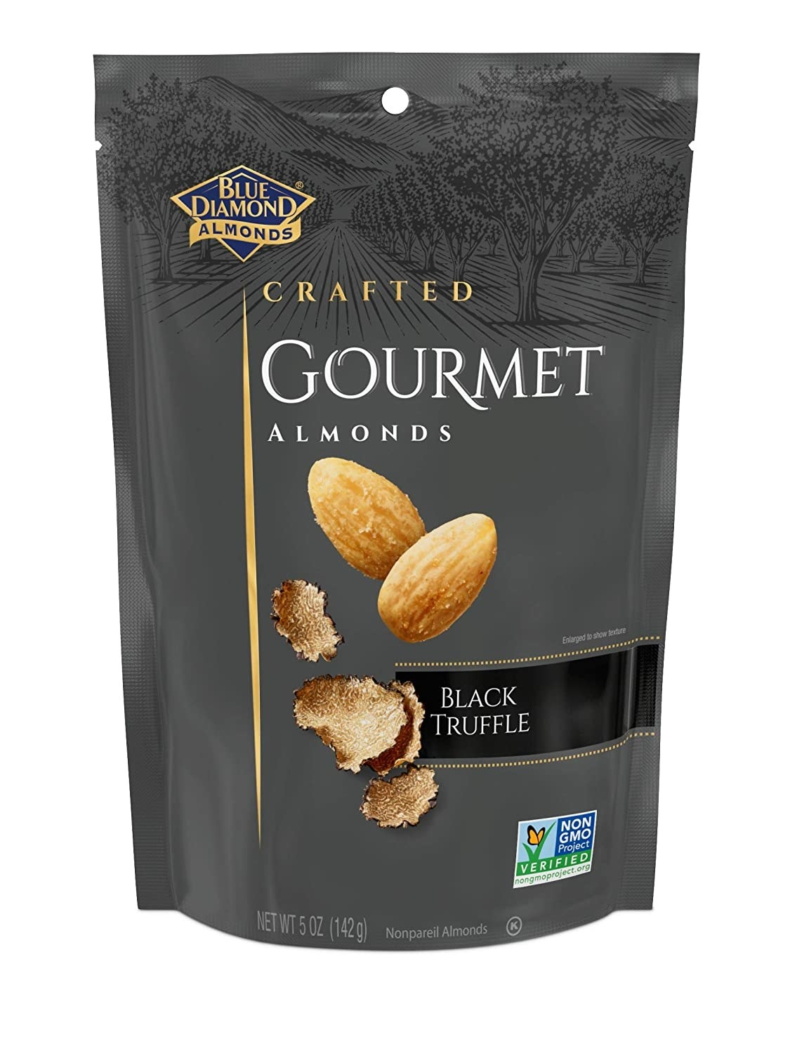 the bag of truffle almonds