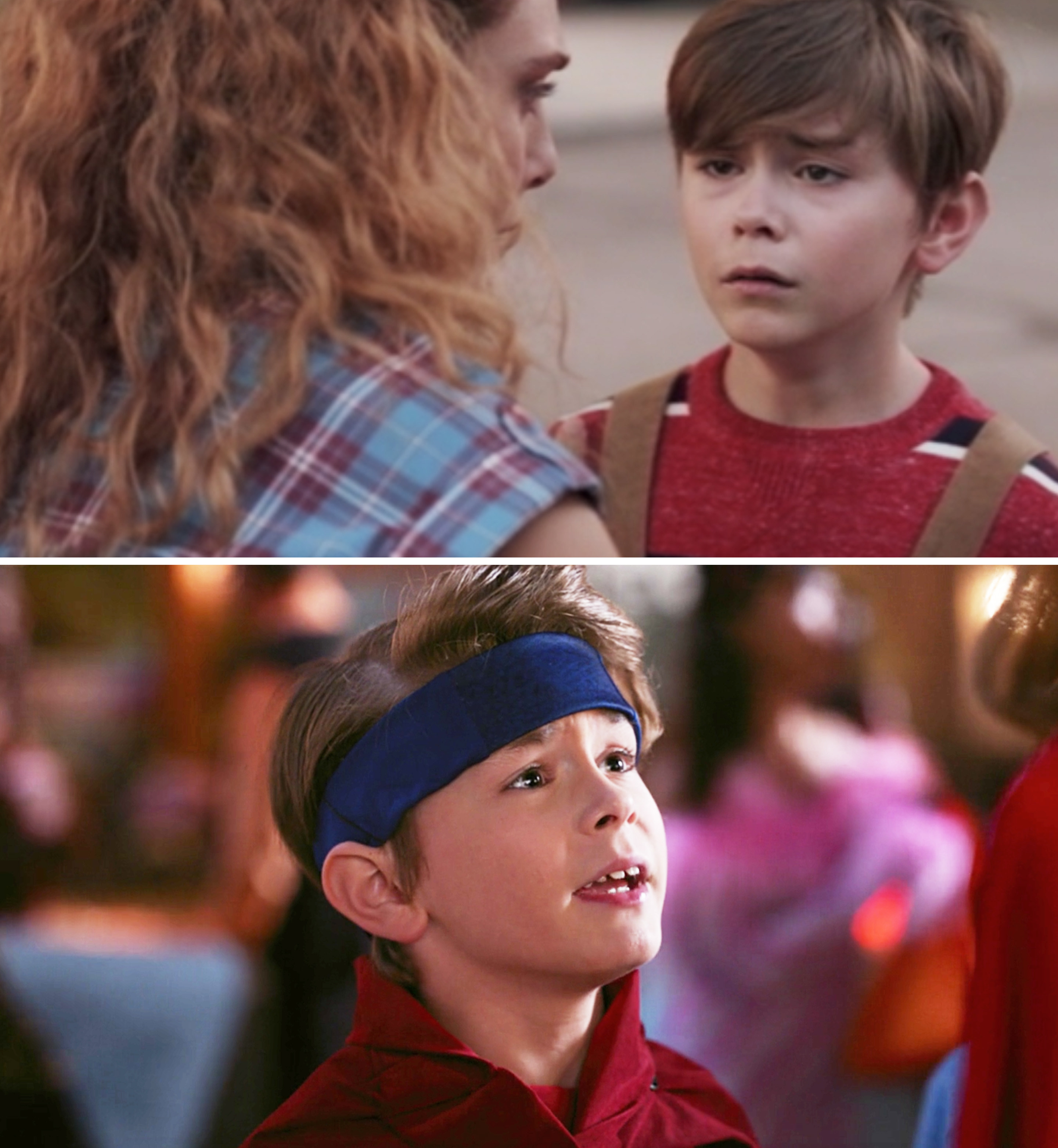 "Julian Hilliard as Billy Maximoff in Episode 5 and Episode 6 of ""WandaVision"""