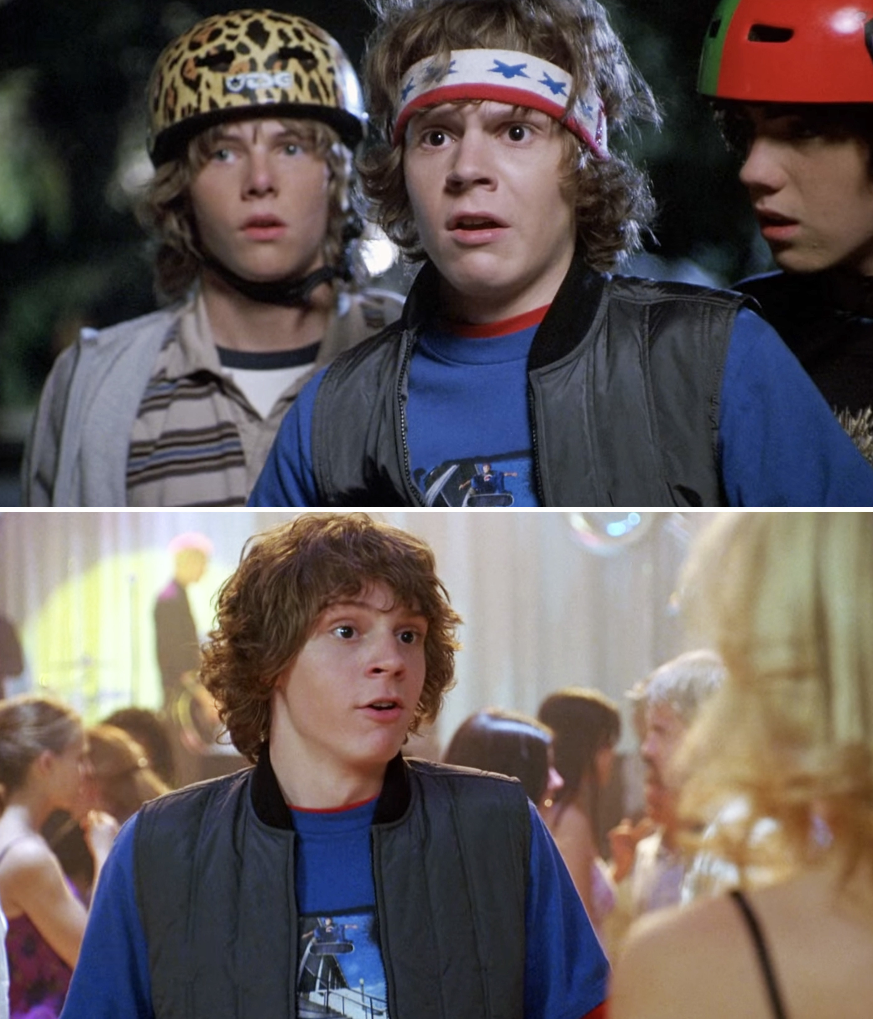 "Evan Peters as Russell in ""Sleepover"""