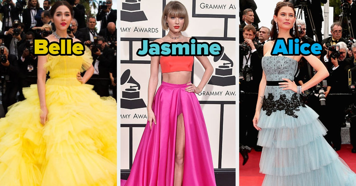 Pick Out Some Red Carpet Looks For These Disney Princesses And We