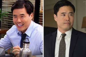 Randall Park as Asian Jim from The Office and then as Jimmy Woo in the MCU
