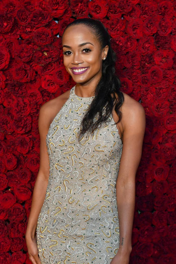 Rachel Lindsay at the Tyler Perry Studios grand opening gala in 2019