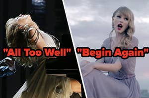 """All Too Well"" and ""Begin Again"""