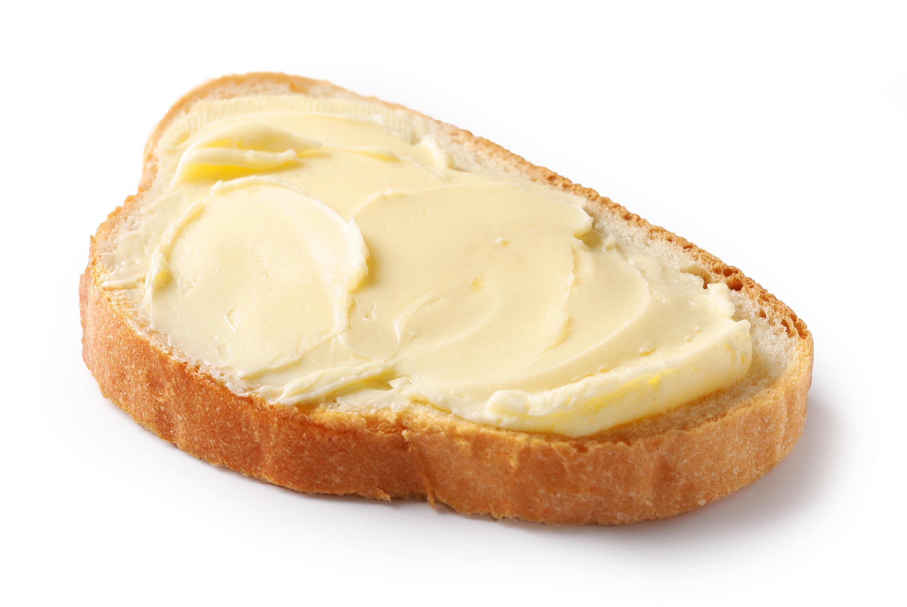 Margarine Spread On Bread