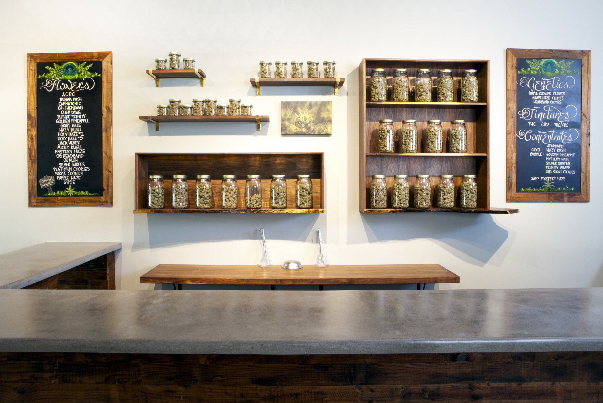 A weed store