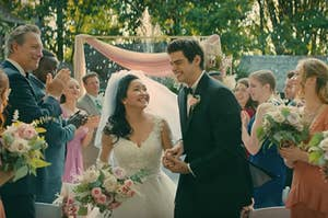 """Lara Jean and Peter wedding fantasy in """"To All the Boys"""""""