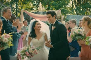 Lara Jean and Peter wedding fantasy in