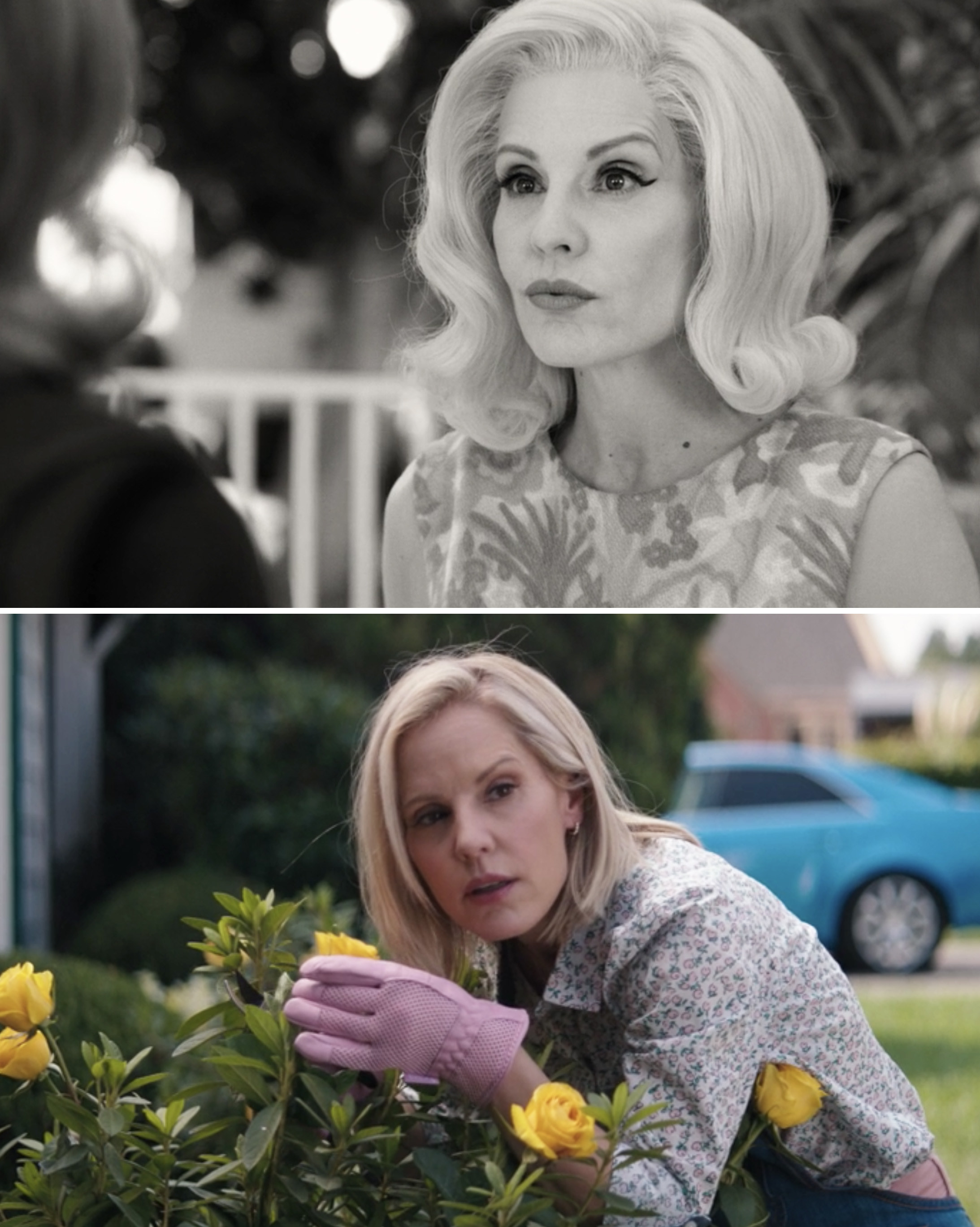 "Emma Caulfield as Dottie in Episode 2 and Episode 7 of ""WandaVision"""
