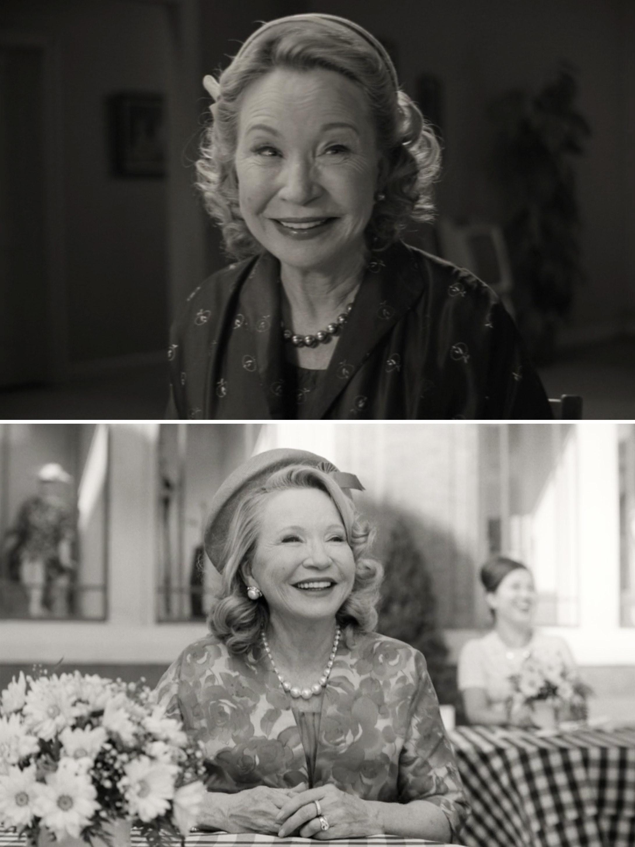 "Debra Jo Rupp as Mrs. Hart in Episode 1 and Episode 2 of ""WandaVision"""