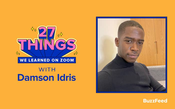 27 Things We Learned On Zoom With Damson Idris