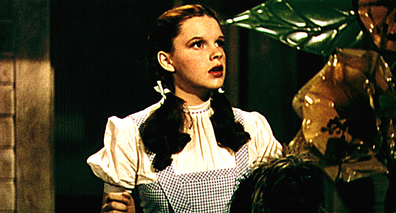 Judy as Dorothy