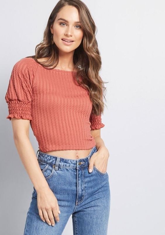 The knit top