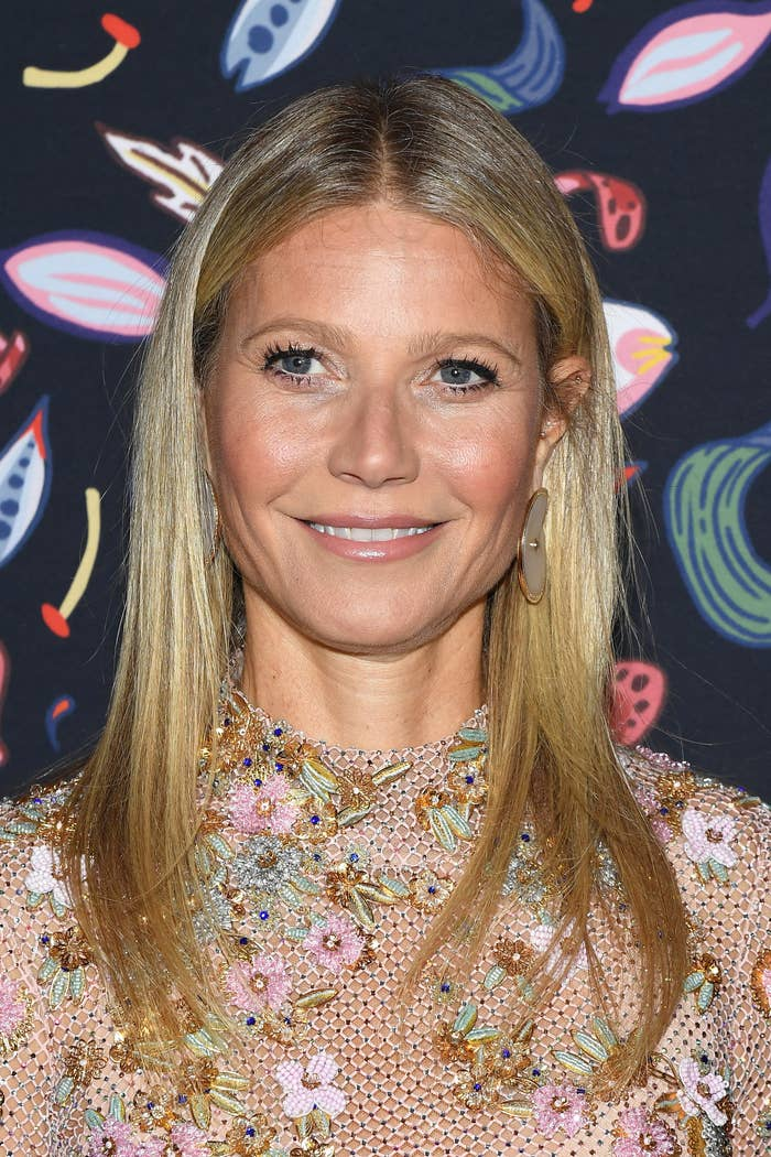 Gwyneth Paltrow at Paris Fashion Week