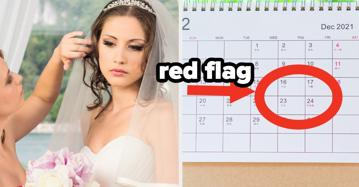 """Wedding workers share """"Ends In Divorce"""" red flags"""
