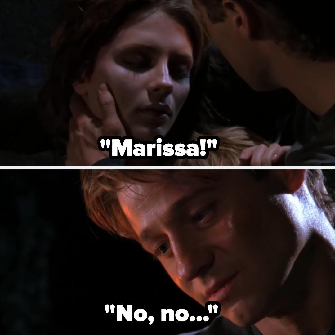 Marissa dies in Ryan's arms