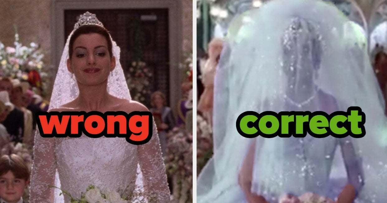 Can You Identify 75% Of The Correct Wedding Dresses From Iconic Movies? - buzzfeed