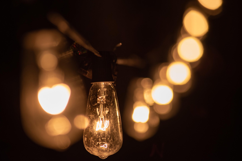A set of string lights