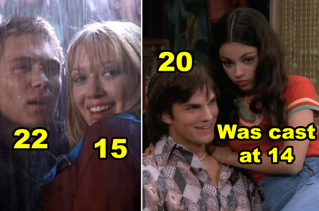 47 Fucked-Up Age Gaps Between Actors In Movies And TV Shows