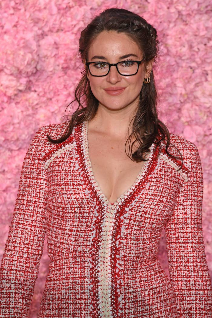Shailene Woodley at Paris Fashion Week in March 2020