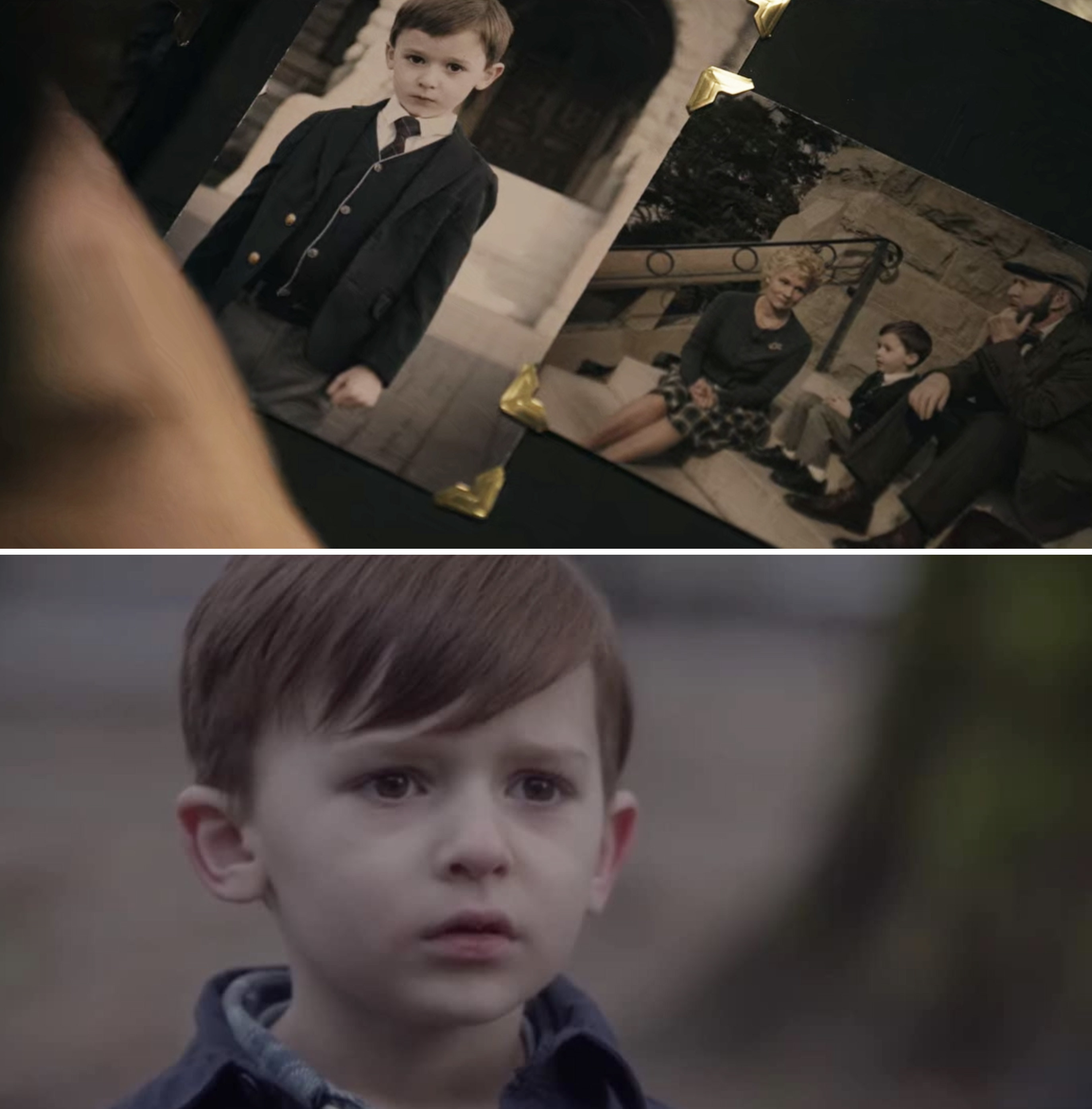 "Jett Klyne as Brahms in ""The Boy"" and as a young kid in ""Supernatural"""