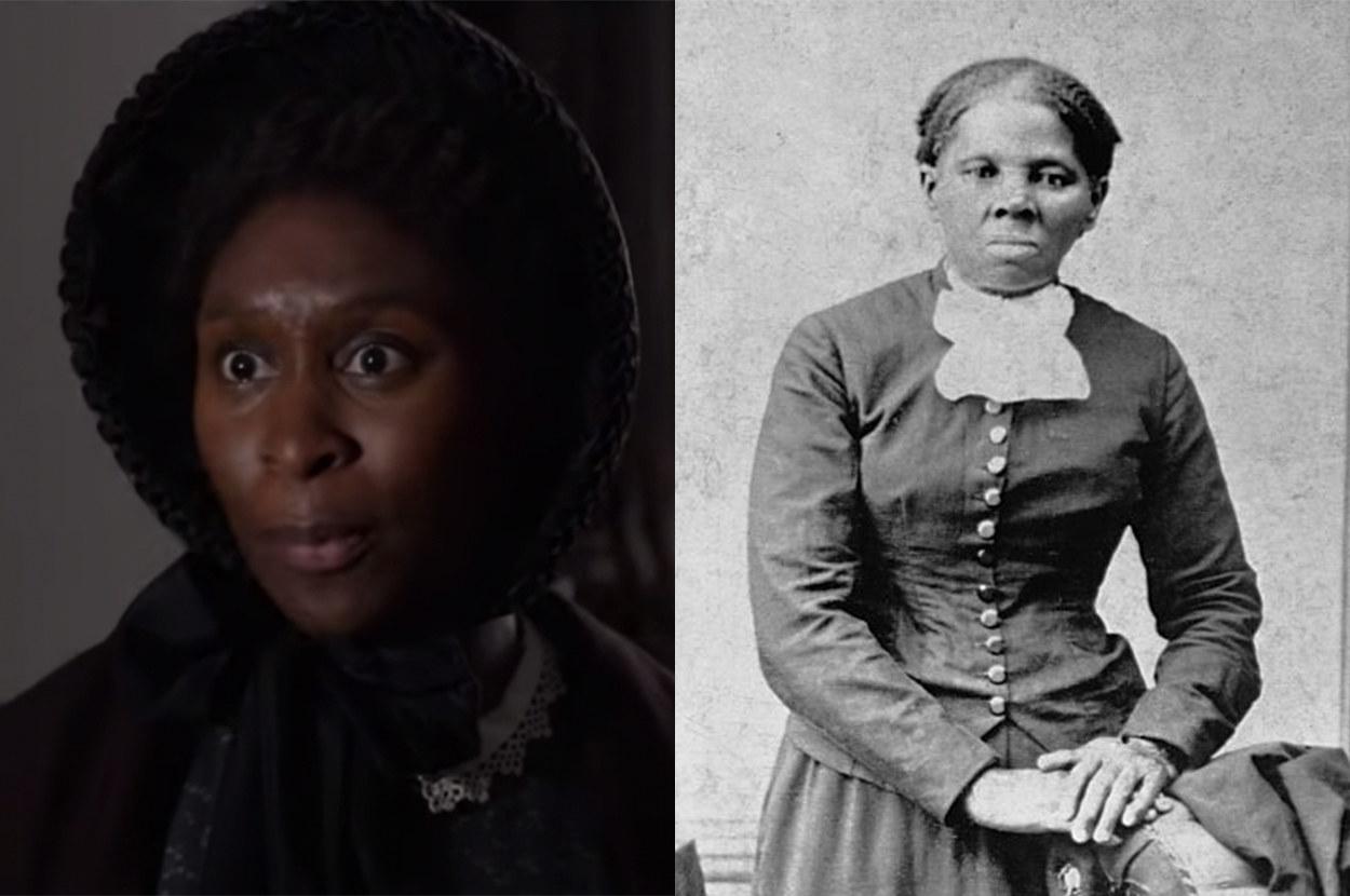 Cynthia portrays Tubman perfectly