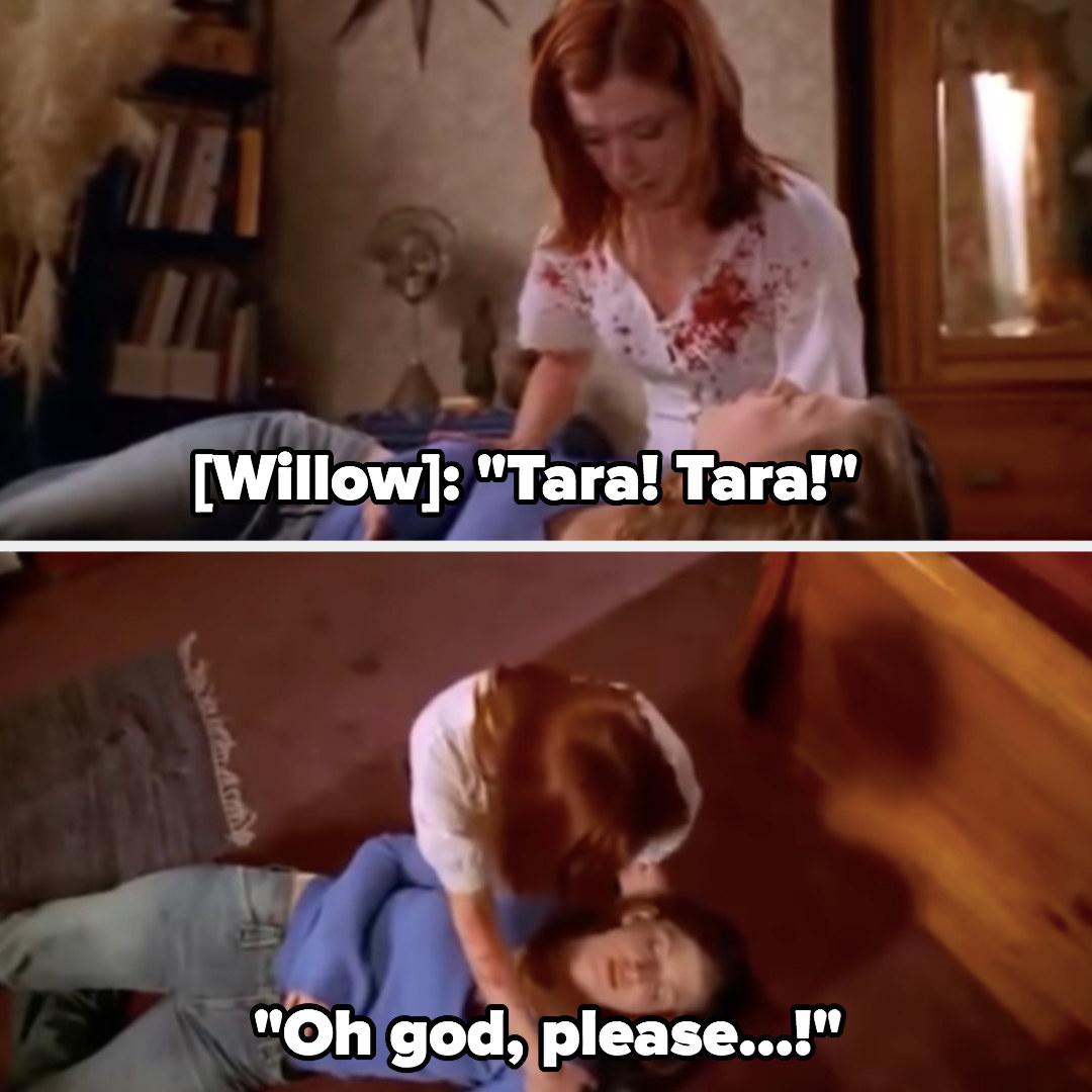 Tara dies in Willow's arms
