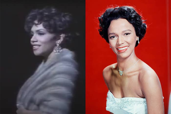 Halle has the same bone structure as Dorothy