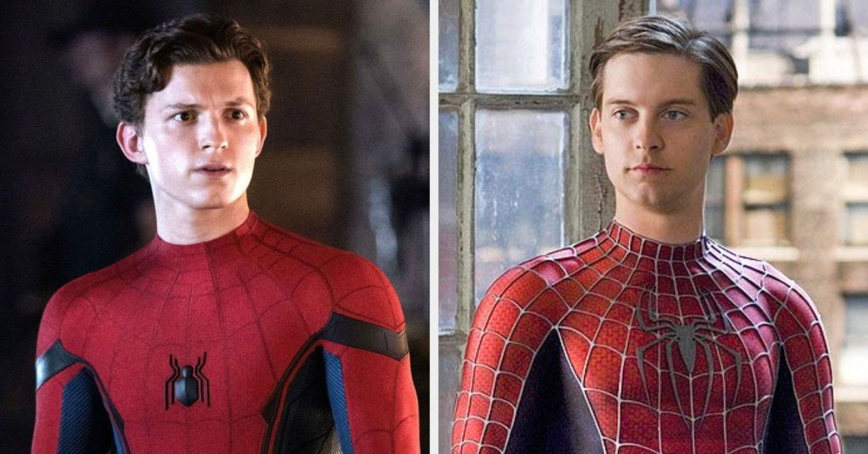 www.buzzfeednews.com: Tom Holland Says Tobey Maguire And Andrew Garfield Won't Be In